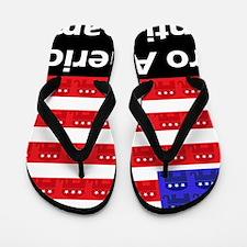 aaaaaaaaproamericad Flip Flops