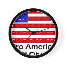 aaaaaaaaproamerica Wall Clock