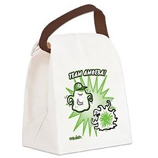 team-amoeba-greenest Canvas Lunch Bag