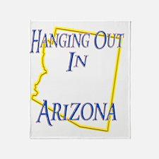 Arizona - Hanging Out Throw Blanket