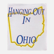 Ohio - Hanging Out Throw Blanket