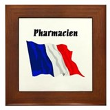 Pharmacy tech Framed Tiles