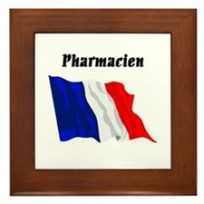 Pharmacist (France) Framed Tile