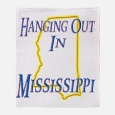 Mississippi - Hanging Out Throw Blanket