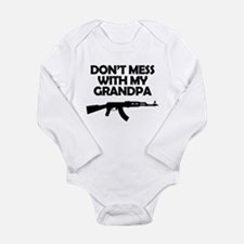 Dont Mess With My Grandpa Body Suit