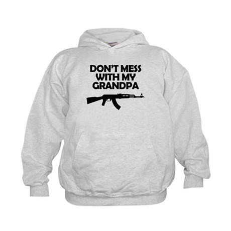 Dont Mess With My Grandpa Hoodie