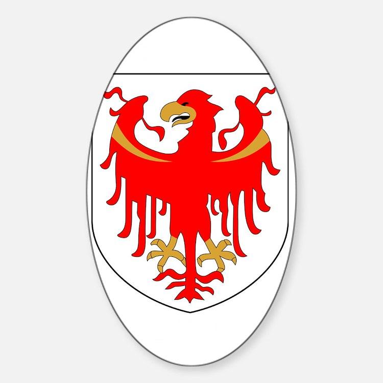 Alto Adige Sudtirol Graphic White T Decal