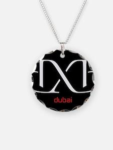 DXB Black Necklace