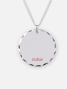 DXB White Necklace