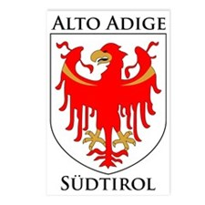Alto Adige Sudtirol Graph Postcards (Package of 8)