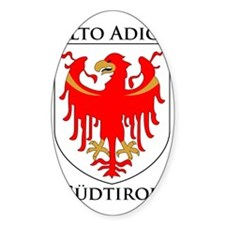 Alto Adige Sudtirol Graphic Black T Decal
