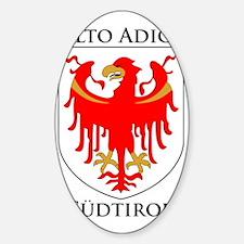 Alto Adige Sudtirol Graphic Black T Decal
