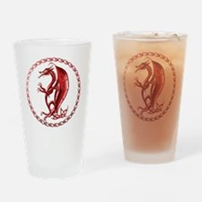 RedCelticDragon Drinking Glass