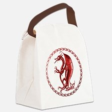 RedCelticDragon Canvas Lunch Bag