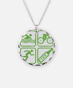 swimbikerunBeer Necklace
