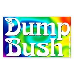 Dump Bush Rectangular Decal
