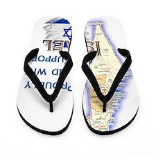 Israel deuteronomySUPOORT ISRAEL Flip Flops