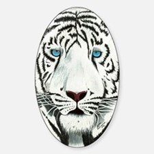 Tiger Journal Sticker (Oval)