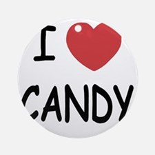 CANDY Round Ornament