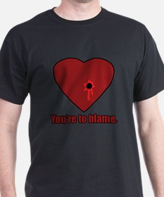 Shot Through the Heart T-Shirt