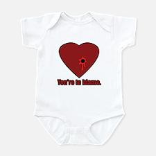Shot Through the Heart Infant Bodysuit