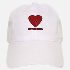 Shot Through the Heart Baseball Baseball Cap