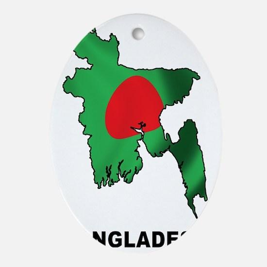 bangladesh2 Oval Ornament