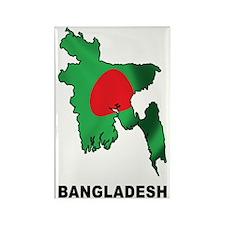 bangladesh2 Rectangle Magnet
