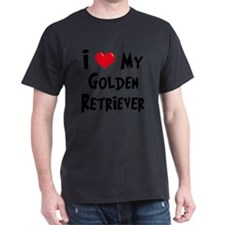 I-Love-My-Golden-Retriever T-Shirt