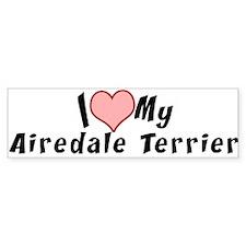 Airedale Terrier Bumper Bumper Sticker