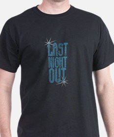 Last Night Out Vintage Blue T-Shirt