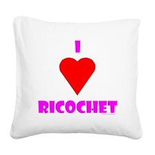 JDMRicochet Square Canvas Pillow