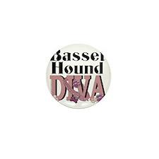 Basset_Hound_DIVA Mini Button