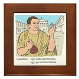 Cambridge latin course Framed Tiles