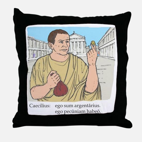 caecilius_col Throw Pillow