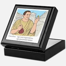 caecilius_col Keepsake Box