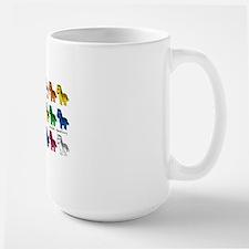 New Zebra multi rows copy Coffee Mug
