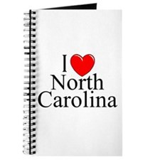 """I Love North Carolina"" Journal"