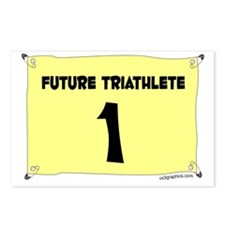 triathlete Postcards (Package of 8)