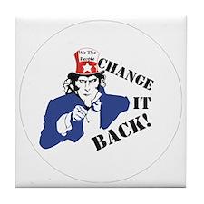Change it back Tile Coaster