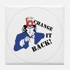 Change it back Tile Coaster