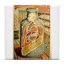 Dr. Kilmer's Tile Coaster