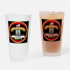 CVA31BLACKTSHIRT Drinking Glass