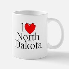 """""""I Love North Dakota"""" Mug"""
