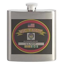 CVA34BLACKTSHIRT Flask