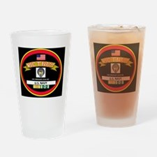 CVA34BLACKTSHIRT Drinking Glass