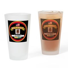 CVA60BLACKTSHIRT Drinking Glass