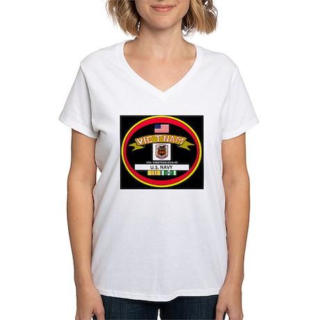 CVA60BLACKTSHIRT Women's V-Neck T-Shirt