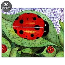 Lady bug framed panel Puzzle