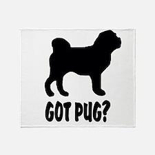 Got Pug Throw Blanket